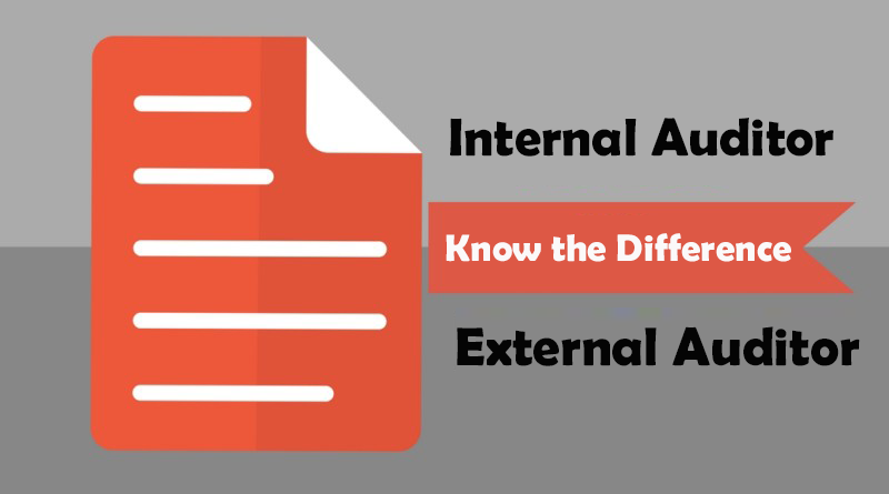 Difference between an Internal and External Auditor