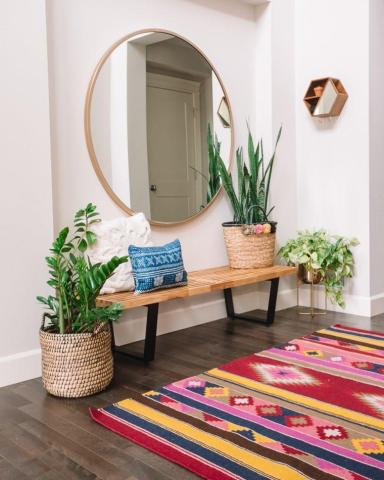 Hallway Runner: Decor Entrance with Fresh Look!