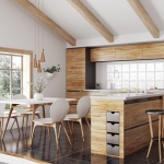 The Vintage Look from Timber Dining Table