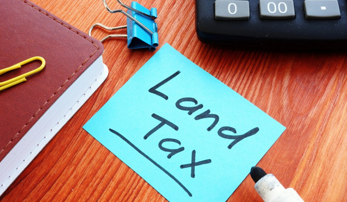 land tax online